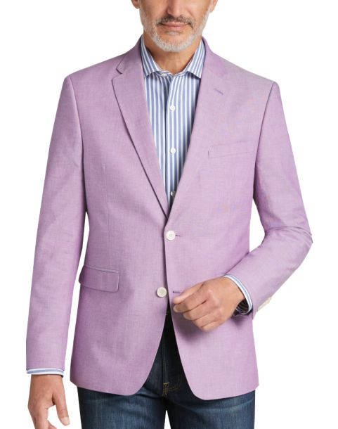 Tommy Hilfiger Lavender Slim Fit Sport Coat - Men's Sport Coats ...
