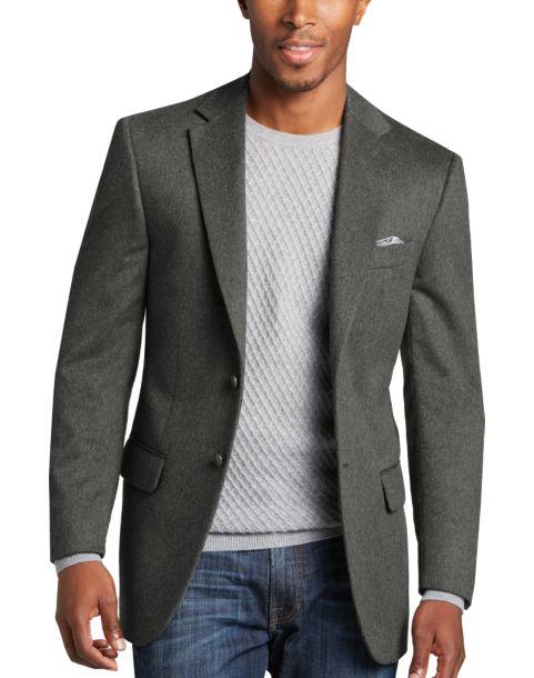 Joseph Abboud Gray Modern Fit Sport Coat - Men's $639.99 Joseph ...