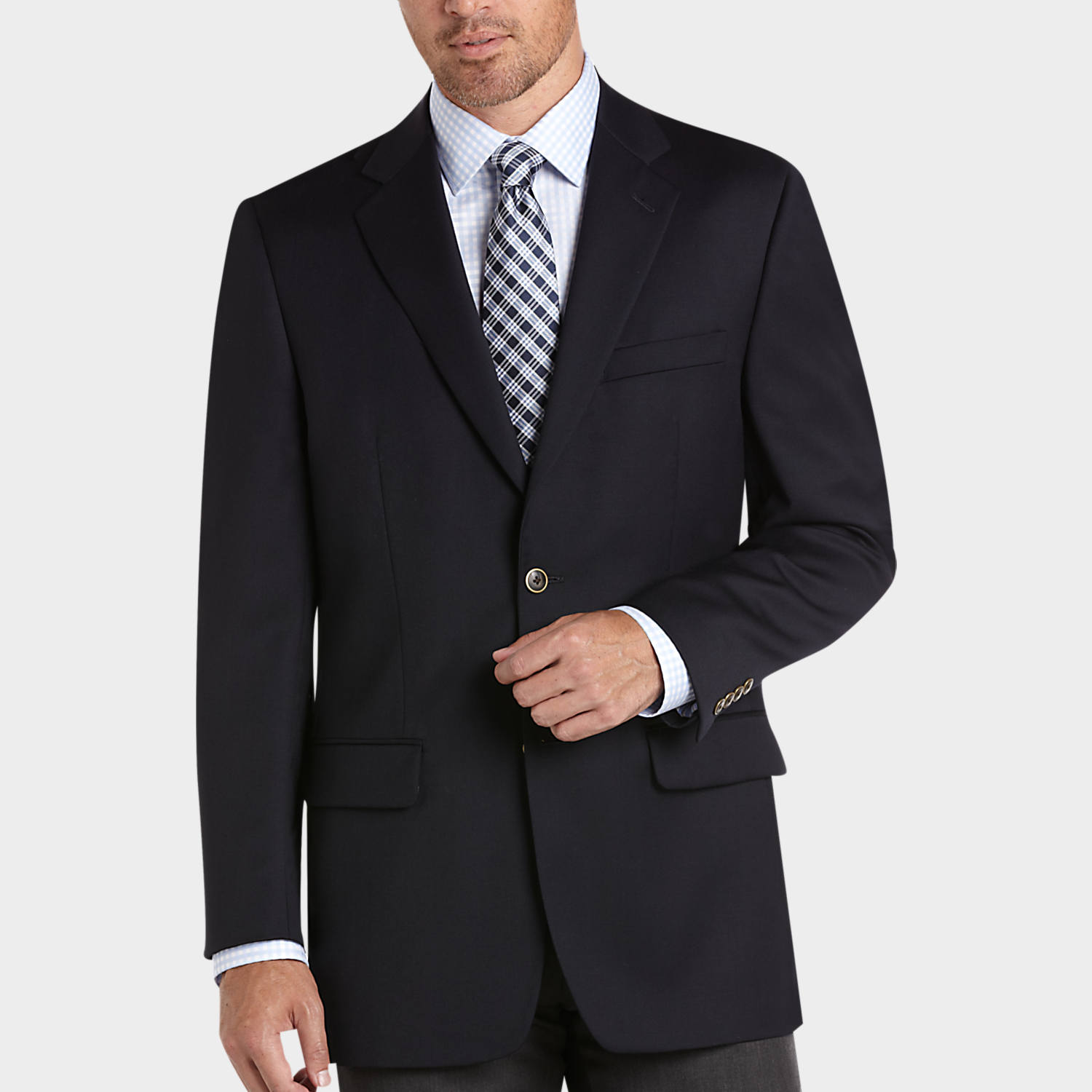 Navy Blazer - Men's Blazers - Joseph & Feiss Gold | Men's Wearhouse