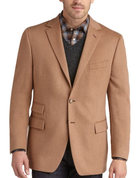 100% Camel Hair Sport Coat - Men's Sport Coats - Joseph Abboud ...