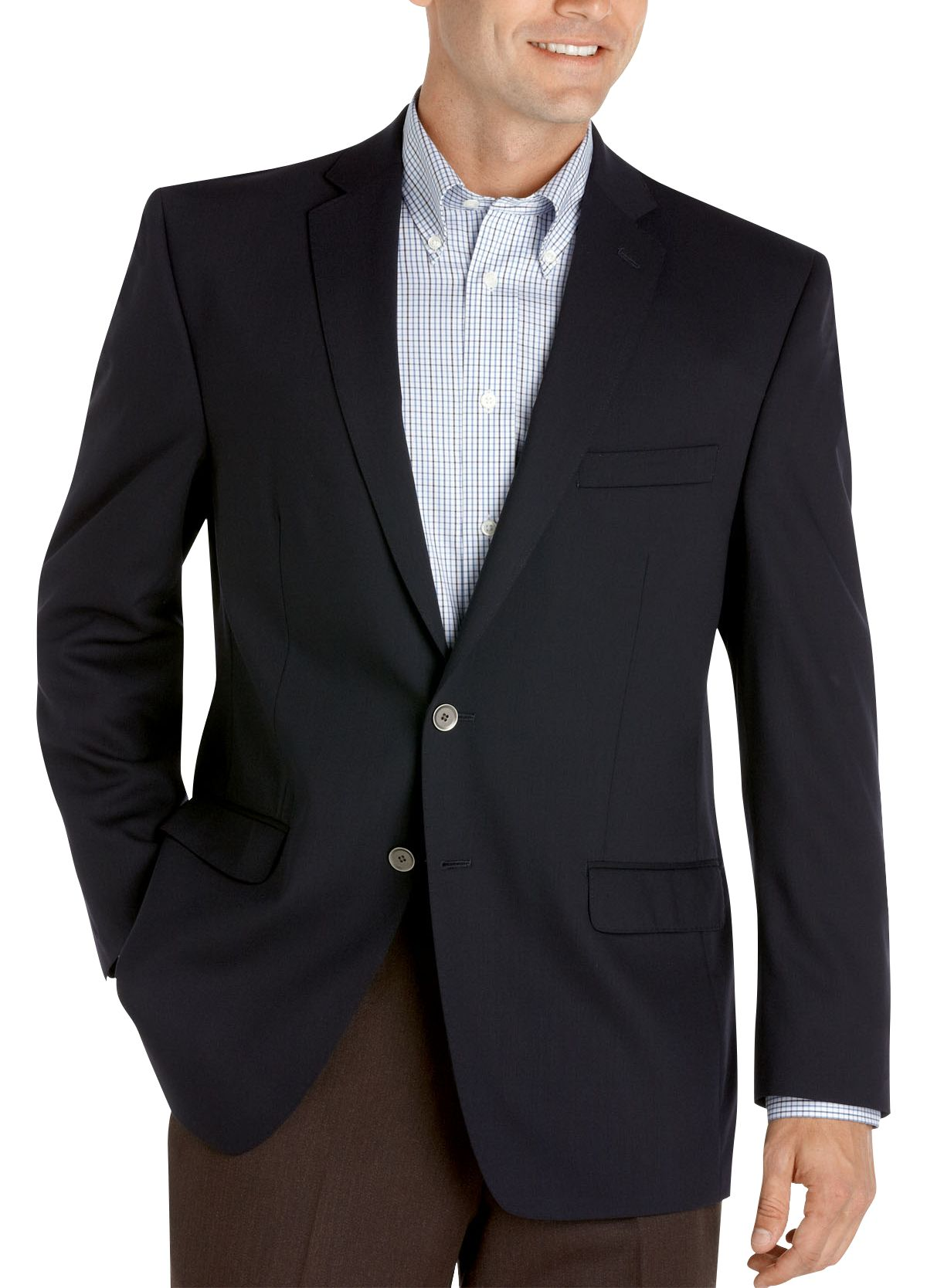 Calvin Klein Slim Fit Navy Blazer - Men's Blazers | Men's Wearhouse