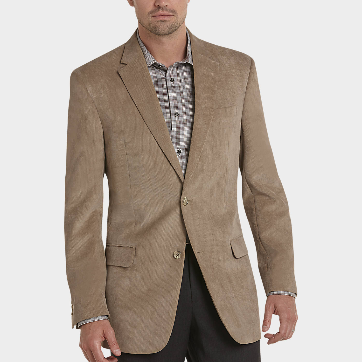 pronto uomo tan microsuede modern fit sport coat  men's modern  - pronto uomo tan microsuede modern fit sport coat  men's modern fit  men'swearhouse