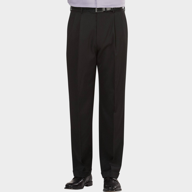 Black dress pants mens