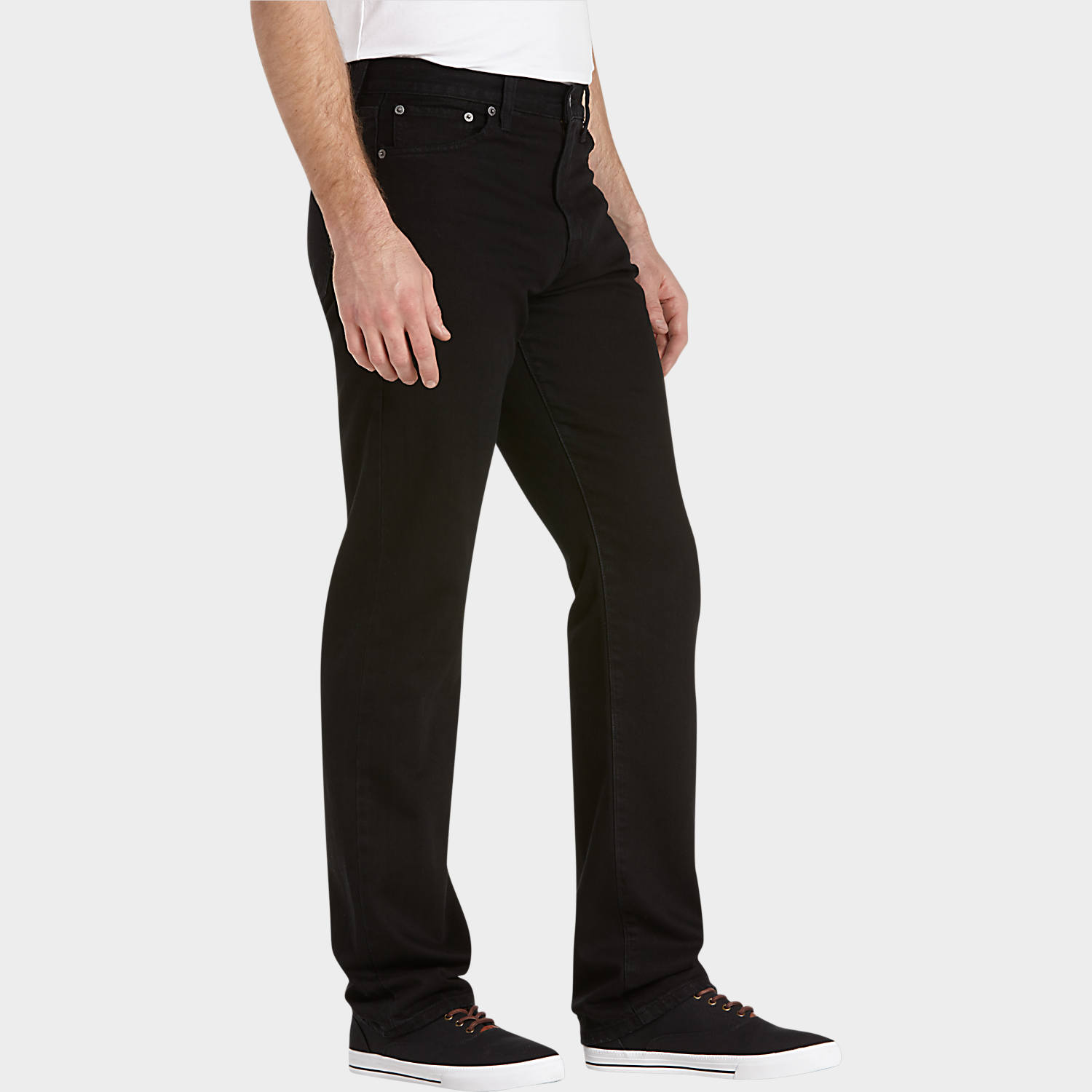 Lucky Brand Jeans 329, Logborro Black Classic Fit Jeans - Men's ...
