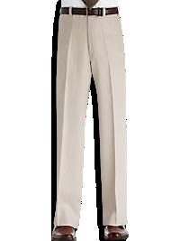 Calvin Klein Khaki Linen Suit Separates Slacks