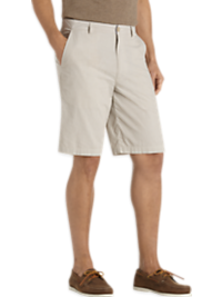 Joseph Abboud Tan Stripe Modern Fit Short