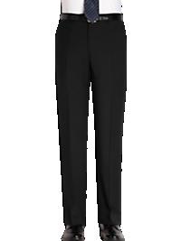 Joseph Abboud Black Slim Fit Suit Separates Slacks