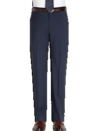 Joseph Abboud Blue Slim Fit Suit Separates Slacks