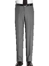 Joseph Abboud Gray Sharkskin Slim Fit Suit Separates Slacks
