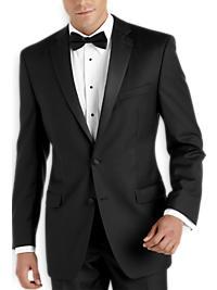 Calvin Klein Black Modern Fit Tuxedo