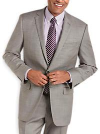 Calvin Klein Gray Slim Fit Suit