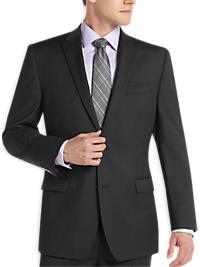 Calvin Klein Charcoal Wool Slim Fit Suit