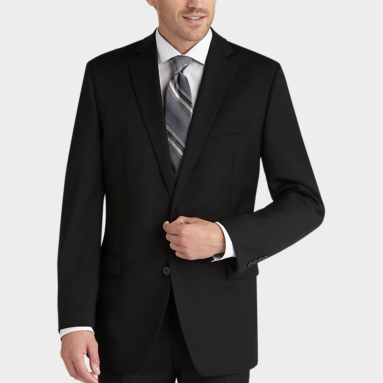 Pict j ferrar modern fit 1 - Mens Calvin Klein Suits Suits Calvin Klein Black Slim Fit Suit Men S Wearhouse