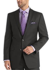 Calvin Klein Charcoal Stripe Slim Fit Suit