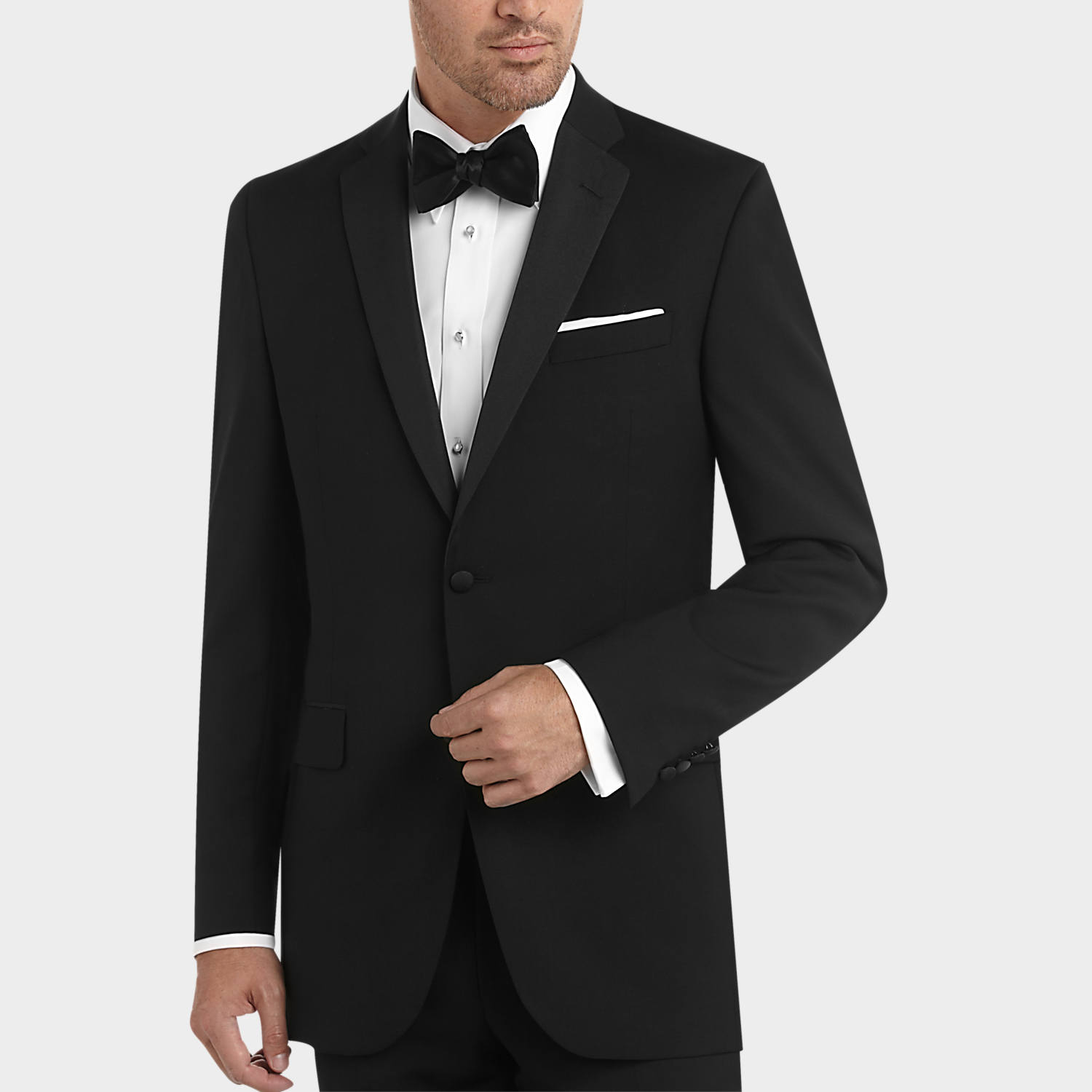 BLACK by Vera Wang Black Slim Fit Tuxedo - Men's Tuxedos | Men's ...