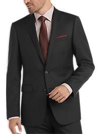 Calvin Klein Charcoal Stripe Extreme Slim Fit Suit