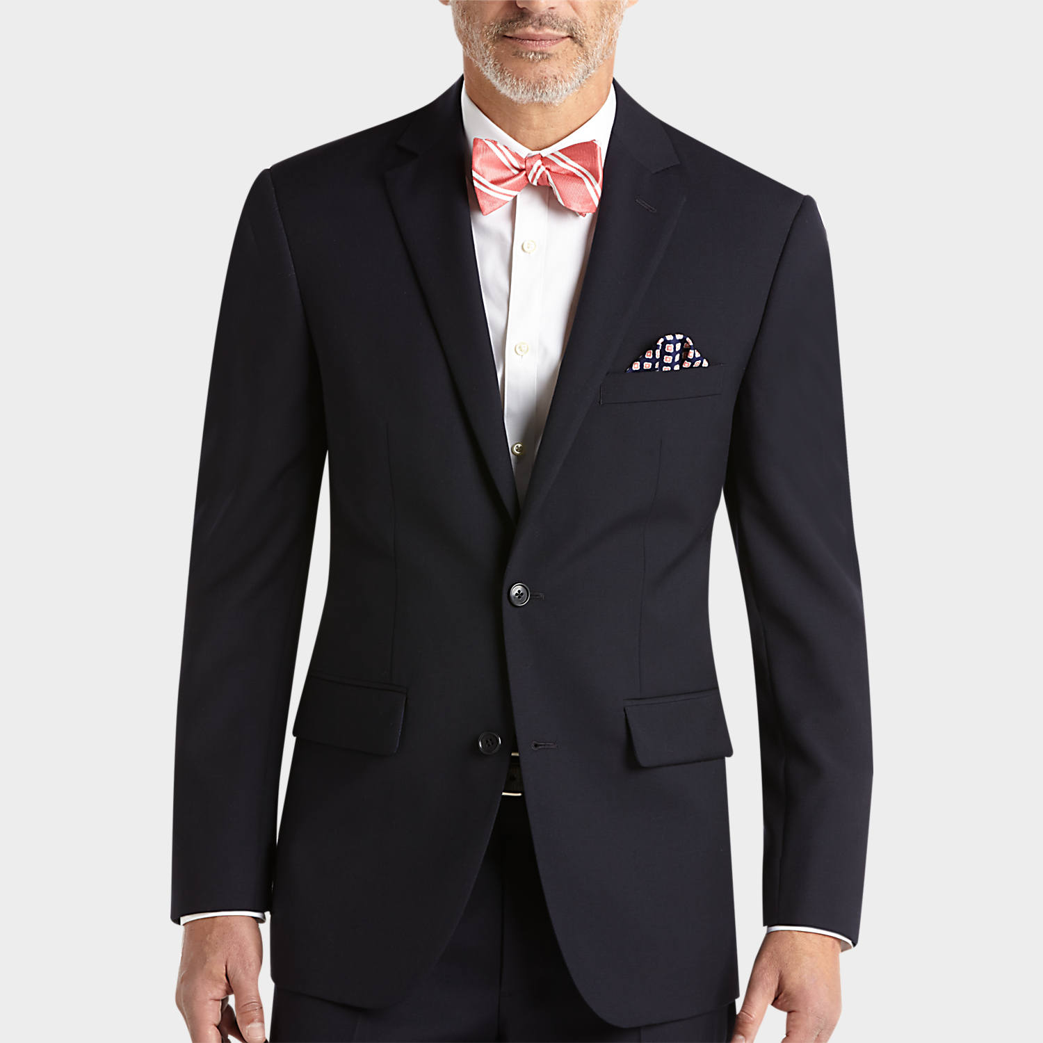 Navy Modern Fit Suit - Men's Suits - Pronto Uomo | Men's Wearhouse