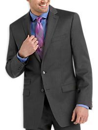 Calvin Klein Charcoal Slim Fit Suit