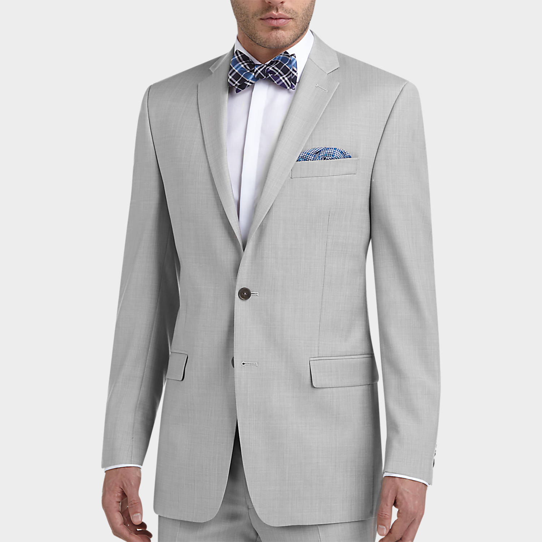 Mens Grey Slim Fit Suit