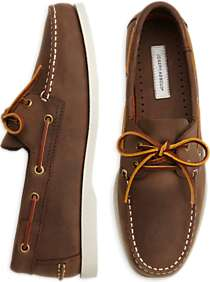 Joseph Abboud Eastman Brown Boat Shoes