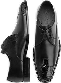 Belvedere Pisa Black Lace-Up Shoes