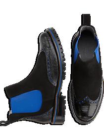 Belvedere Marte Black Slip-On Boots