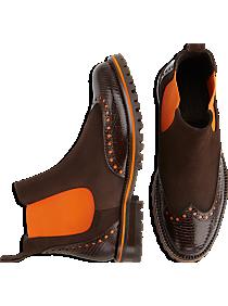 Belvedere Marte Brown Slip-On Boots