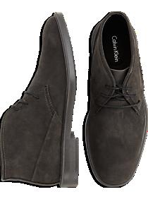 Calvin Klein Ulysses Gray Chukka Boots
