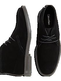 Calvin Klein Ulysses Black Chukka Boots