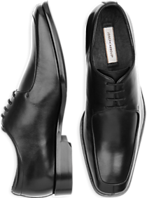 Joseph Abboud Black Oxford Lace Up Shoes