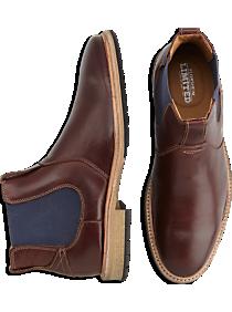 Florsheim Indie Gore Chocolate Brown Slip-On Boots
