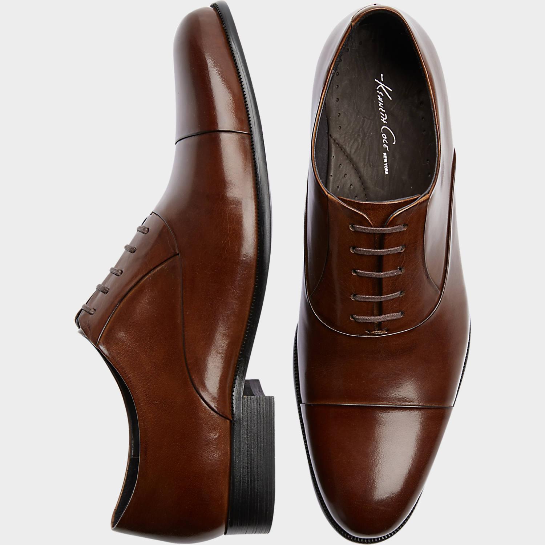 Black dress burgundy shoes 39