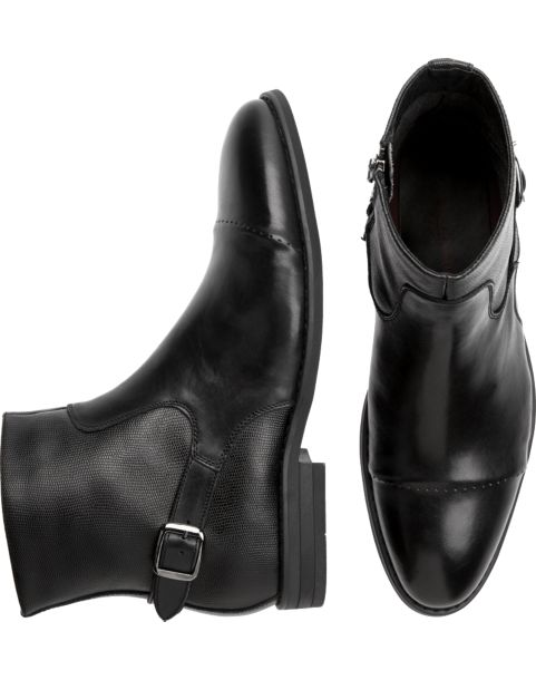 Charles Jourdan Luke Black Boots - Men's Boots | Men's Wearhouse