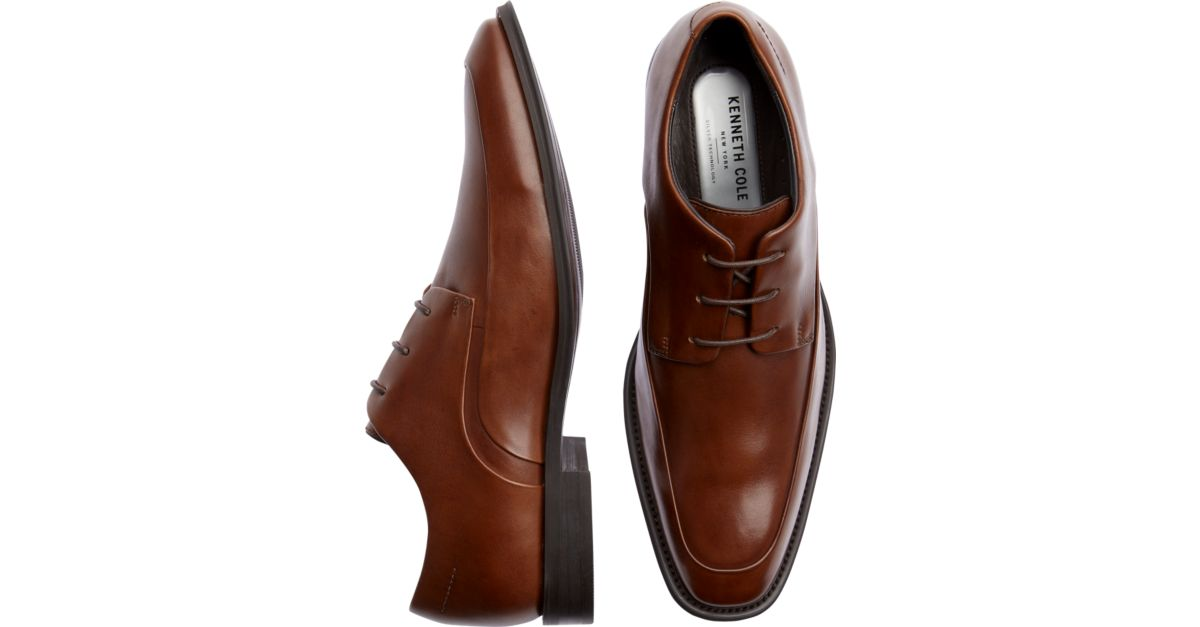 Kenneth Cole Shore Footed Tan Dress Shoes