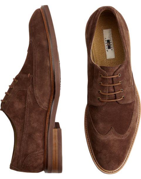 Joseph Abboud Men S Leather Oxford Dress Shoes