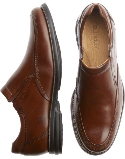 belvedere torino slip on dress shoes s dress