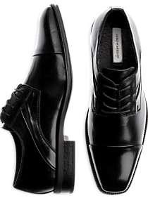 Joseph Abboud Mirage Black Lace-Up Shoes