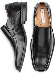 Joseph Abboud Black Slip-On Shoes