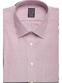 Joseph & Feiss Fuchsia Stripe Modern Fit Non-Iron Dress Shirt