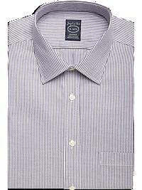 Joseph & Feiss Purple Stripe Modern Fit Non-Iron Dress Shirt