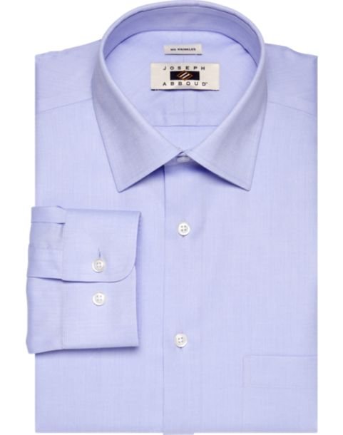 Joseph abboud blue egyptian cotton dress shirt men 39 s non for Mens egyptian cotton dress shirts