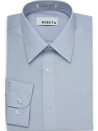 Modena Light Blue Slim Fit Dress Shirt