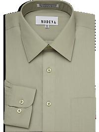 Modena Sage Slim Fit Dress Shirt