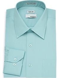 Modena Seafoam Slim Fit Dress Shirt