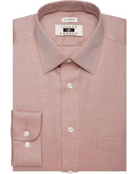 Joseph abboud red herringbone dress shirt men 39 s modern for Joseph abboud dress shirt