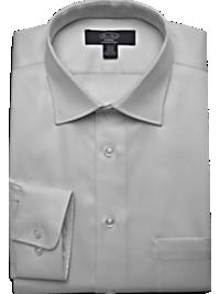 Pronto Uomo Platinum Modern Fit Non-Iron Dress Shirt,Gray