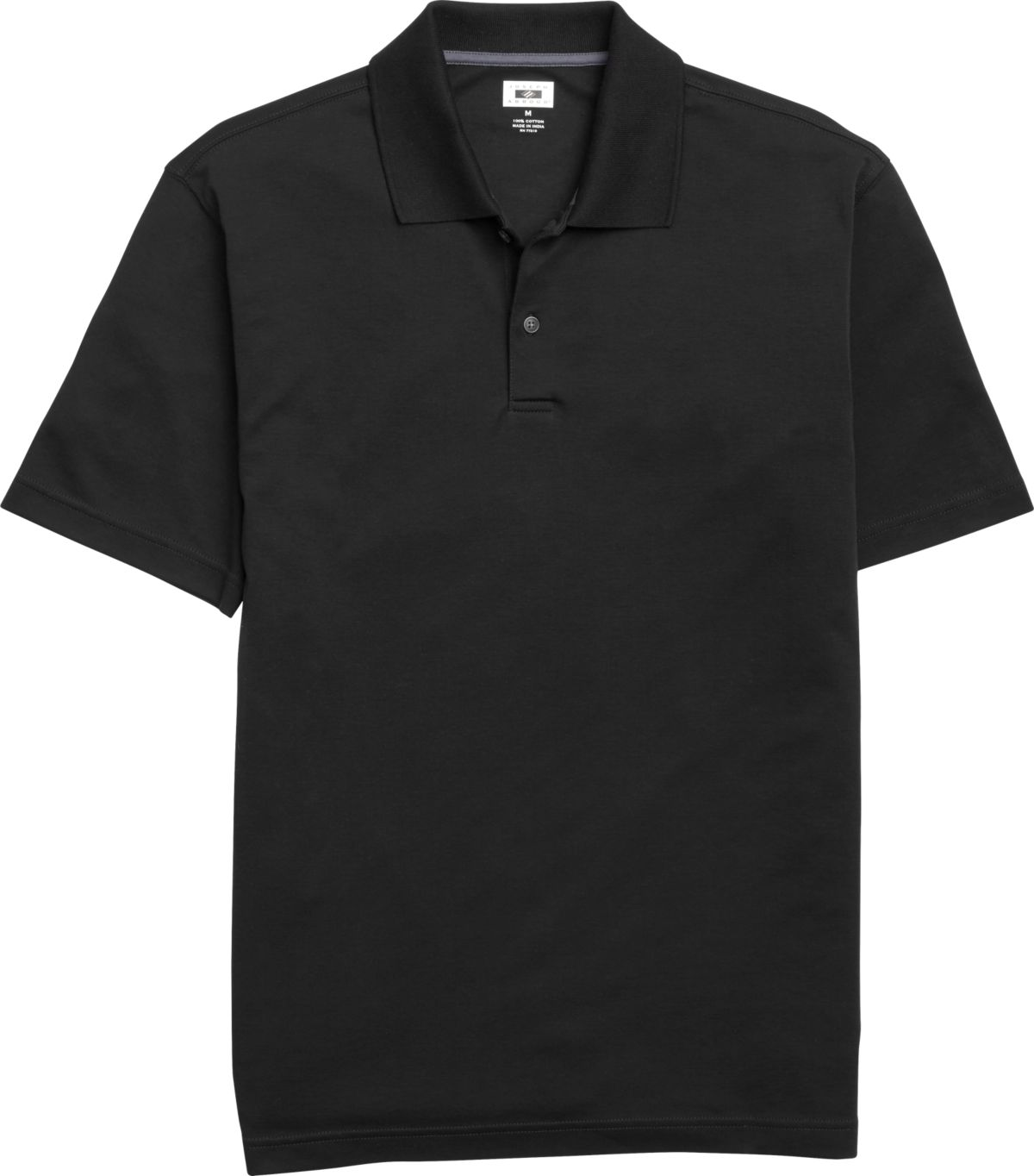Joseph Abboud Black Pima Cotton Polo Shirt - Men's $389.99 Calvin ...