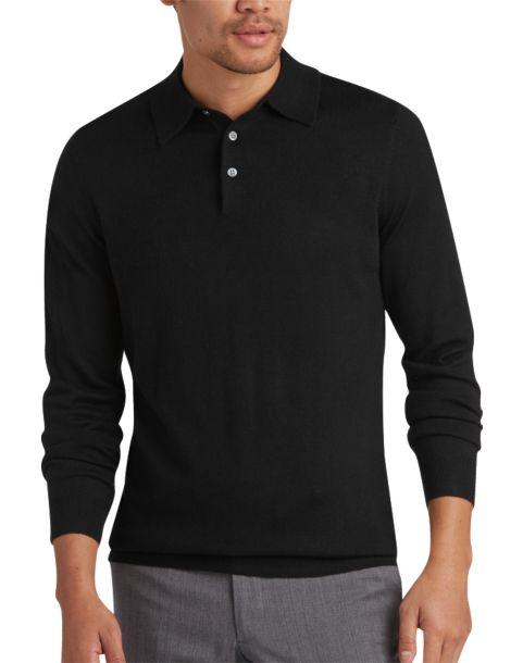 Men Over  Clothes Black