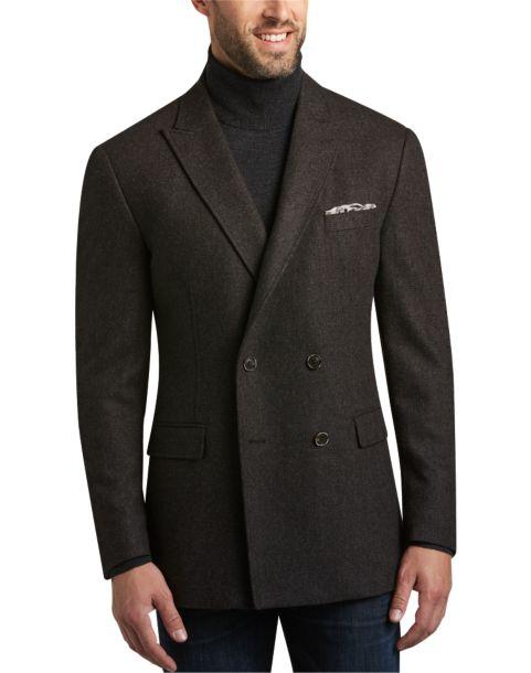 Joseph Abboud Brown Casual Coat - Men's Casual Coats | Men's Wearhouse