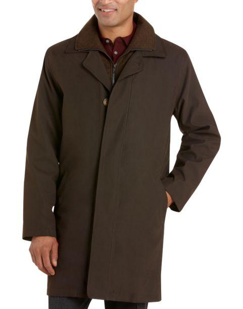 Lauren by Ralph Lauren Olive Classic Fit Raincoat - Men's ...